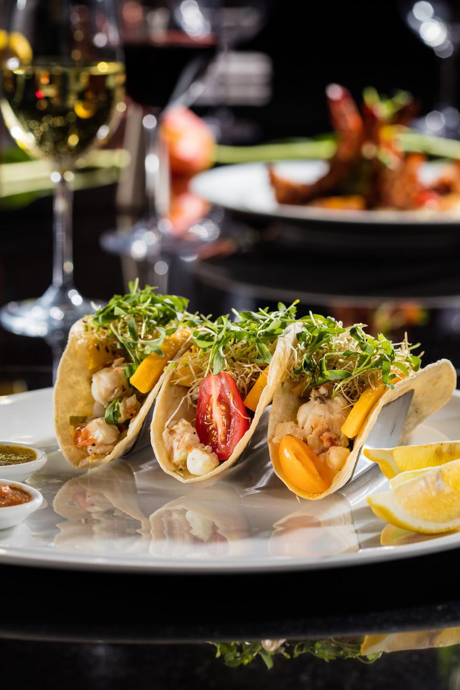 Unique Lobster Tacos