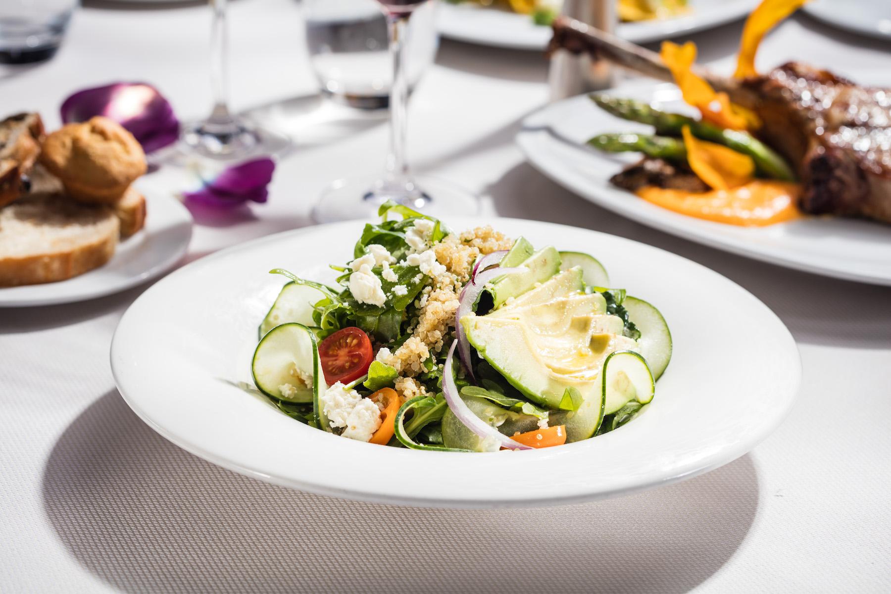 Unique Quinoa and Kale Salad