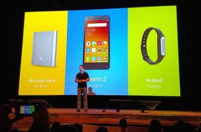 Xiaomi apresenta seus primeiros produtos no Brasil