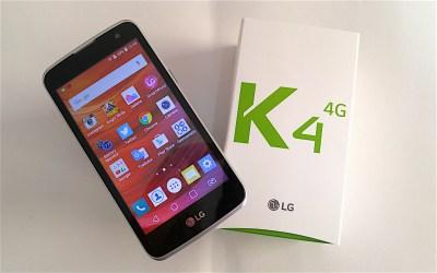 LG K4 é um smartphone para fazer o básico