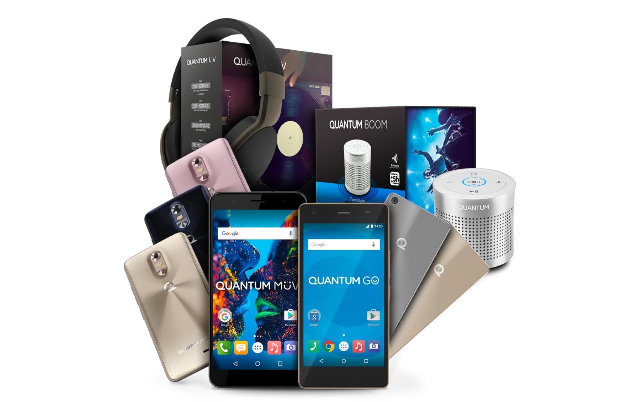 Smartphones e acessórios da Quantum entram na Black friday