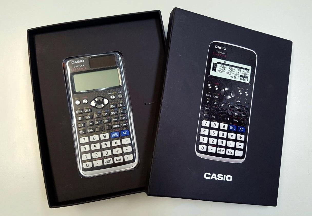 Casio apresenta calculadoras e novo serviço no Brasil