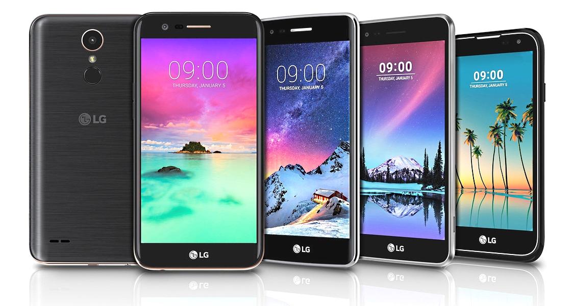 LG aumenta a família de smartphones da série K