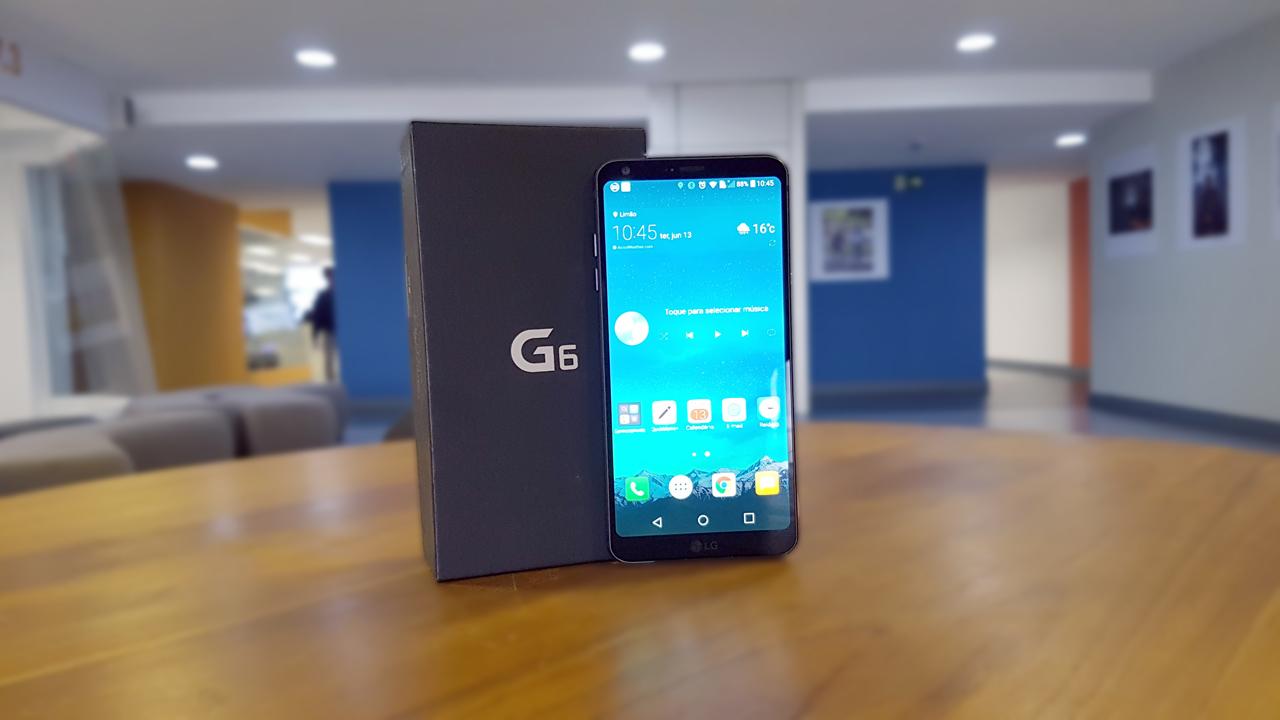 LG G6 é um ótimo smartphone, mas peca no sistema