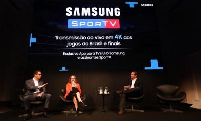 Samsung anuncia aplicativo para assistir à Copa do Mundo
