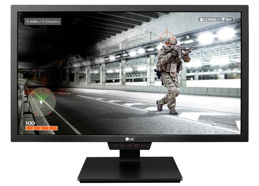 Outro monitor gaming da LG de 2018 tem tela de 24 polegadas