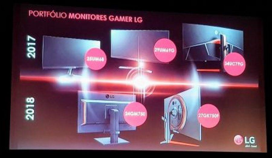 LG monitores gaming