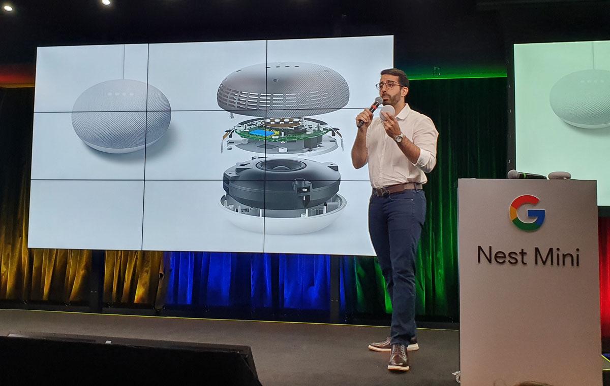 Google Nest Mini chega ao Brasil