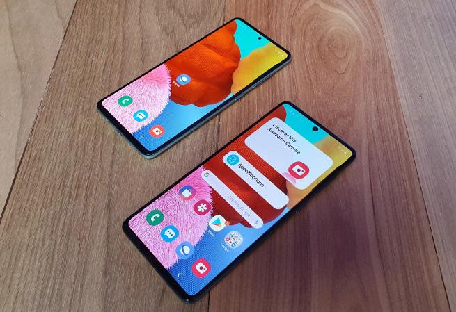 Samsung Galaxy A71 e A51: saiba tudo sobre eles
