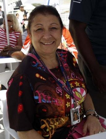 Angelina Basílio - Presidente da Rosas de Ouro
