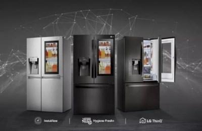 LG renova linha de geladeiras conectadas