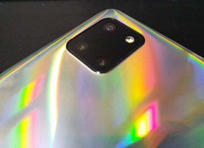 Galaxy Note 10 Lite: câmeras