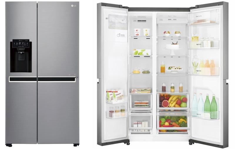 Geladeira Smart LG Side by Side Inverter 601 litros com Ice&Water System