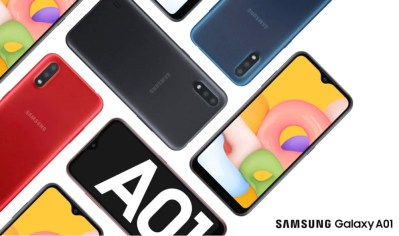 Samsung anuncia Galaxy A01 no Brasil
