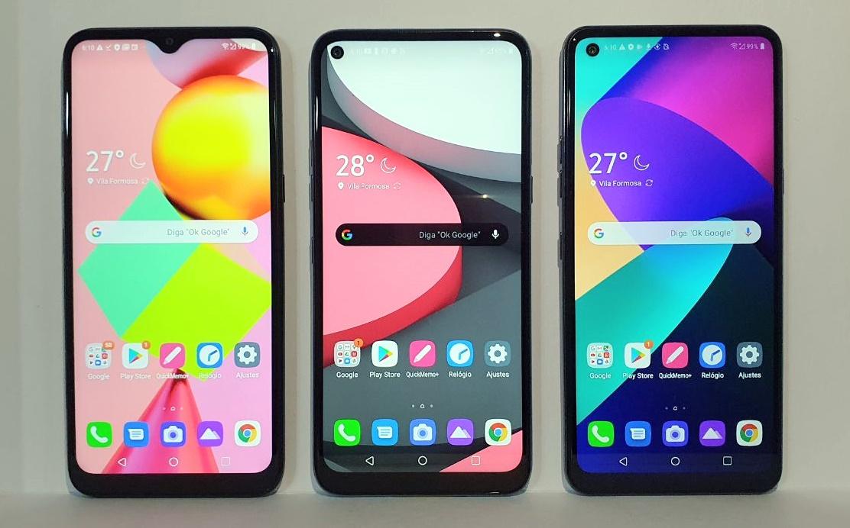 LG apresenta novos smartphones da série K: preço acessível e com 4 câmeras