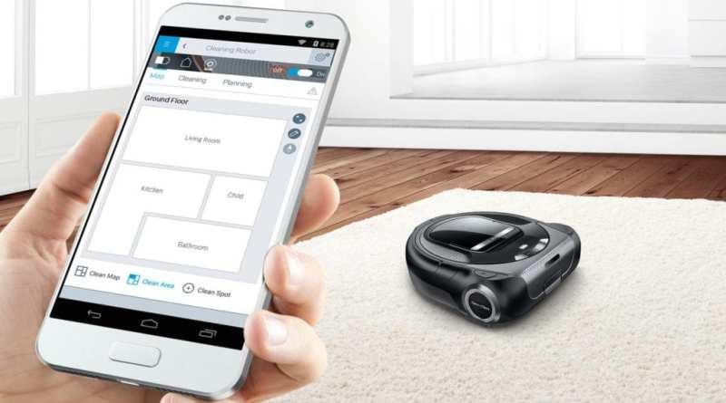 Bosch presenta su primer robot aspirador