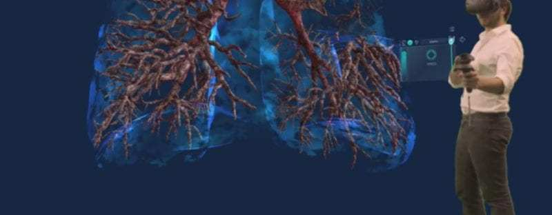 Realidad virtual para ayudar a médicos y pacientes