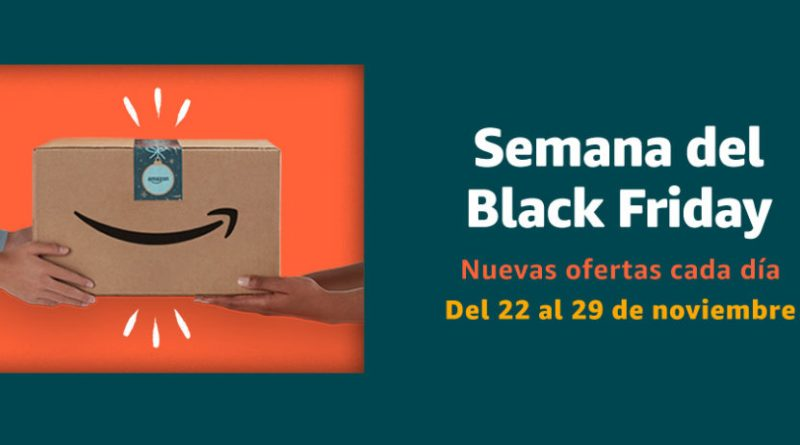Amazon arranca hoy la semana de Black Friday