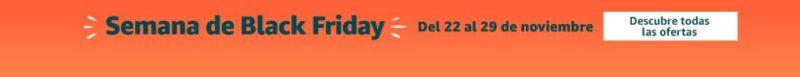 Amazon Black Friday - Amazon arranca hoy la semana de Black Friday: te traemos las mejores ofertas