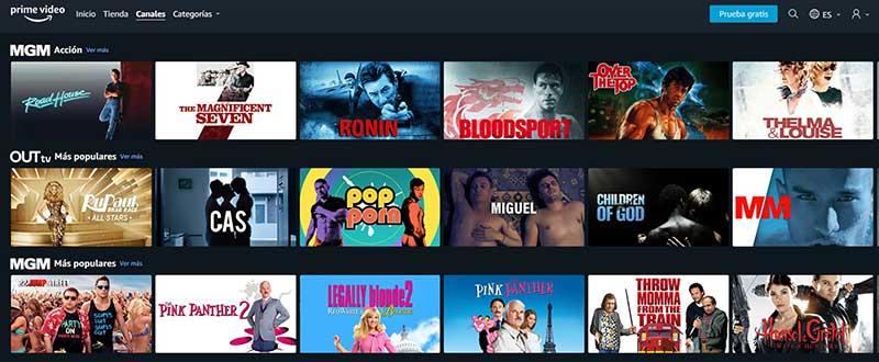 Amazon Prime Video4 - 5 cosas fundamentales que debes saber sobre Amazon Prime Video Channels
