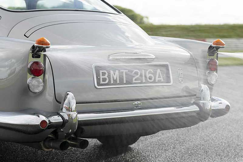 Aston Martin DB5 Goldfinger Continuation 20 - El Aston Martin DB5 Goldfinger vuelve después de 50 años