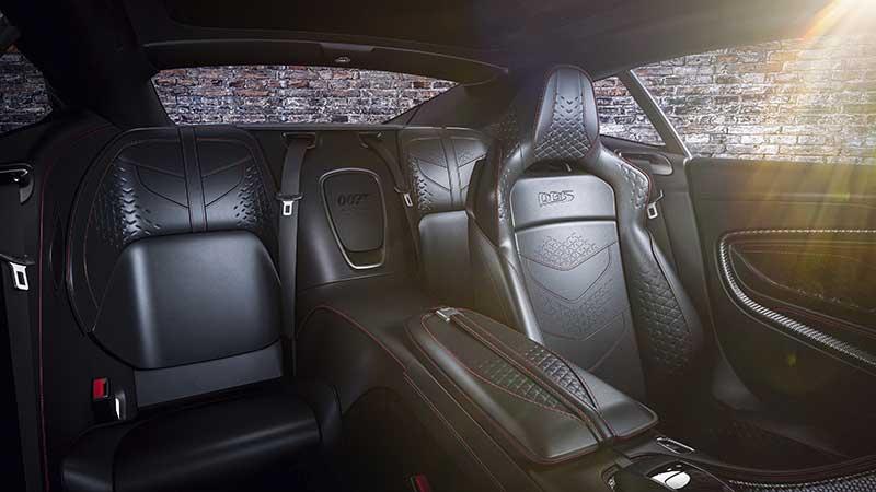 Aston Martin DBS Superleggera 007 Edition 10 - Aston Martin crea una edición limitada 007 de coches deportivos para celebrar el estreno de No Time To Die