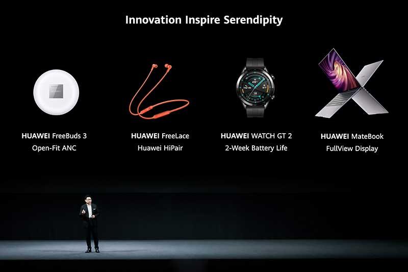 Dispositivos Huawei7 - Huawei lanza seis nuevos e interesantes dispositivos: los smartwatches Watch Fit y Watch GT2 Pro, los MateBook X y MateBook 14 AMD, los auriculares TWS FreeBuds Pro y los FreeLace Pro