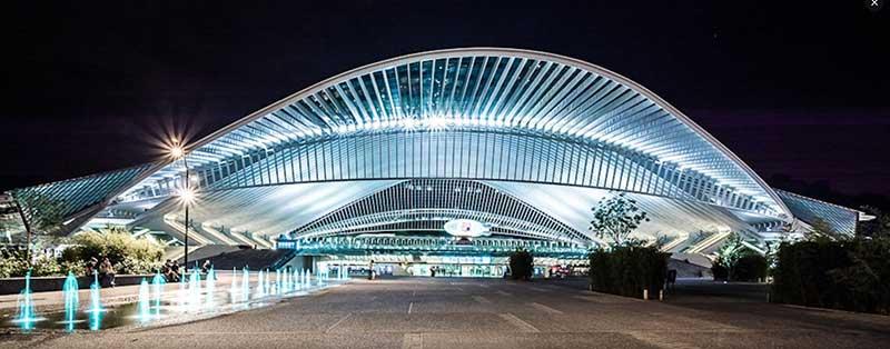 Estacion de tren Regus Liege Guillemins - Día Del Orgullo Friki: Visita Con Google Earth Las 10 Localizaciones De Las Películas De Superhéroes Más Famosas