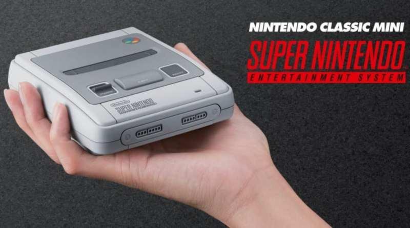 Confirmada la Nintendo Classic Mini: Super Nintendo Entertainment System