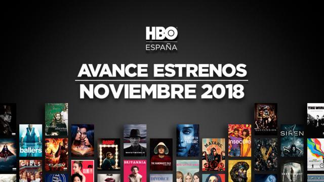 HBO1 - HBO: todos los estrenos para noviembre