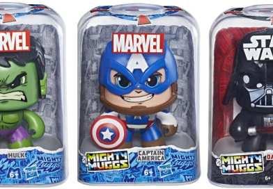Hasbro presenta nuevas figuras de Marvel Best of Legends y Mighty Muggs en el Salón del Cómic de Barcelona