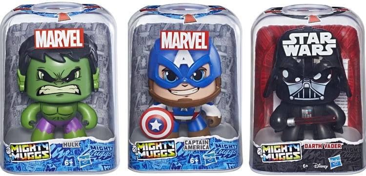 Hasbro presenta nuevas figuras de Marvel Best of Legends y Mighty Muggs en el Salón del Cómic de Barcelona
