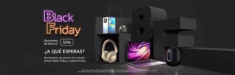 Huawei Black Friday 1 - Por fin es viernes... Viernes negro: llega el Gran Bazar del Black Friday