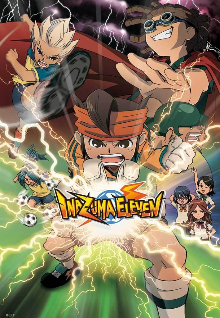 Inazuma poster 710x1024 - Pluto TV Anime te trae Inazuma Eleven
