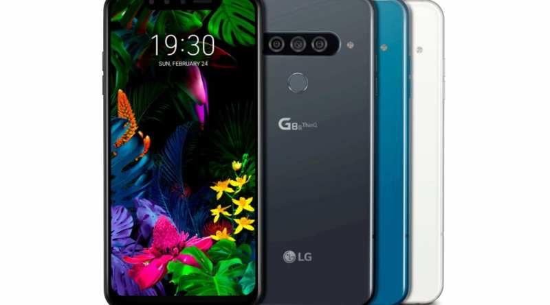 LG G8s Thinq Smart Green
