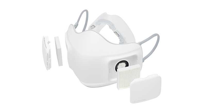 LG PuriCare Aire Purifying Mask - LG ha presentado su mascarilla tecnológica LG Puricare Air Purifying Mask