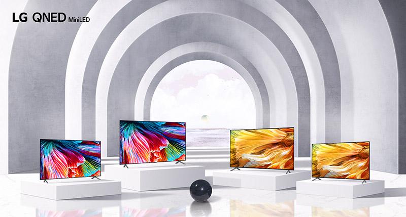 LG QNED Mini LED TV - LG refuerza su cartera de productos: aspirador inteligente, casa de diseño, portátiles ultraligeros, monitores gamer y, por supuesto, las mejores Smart TV OLED