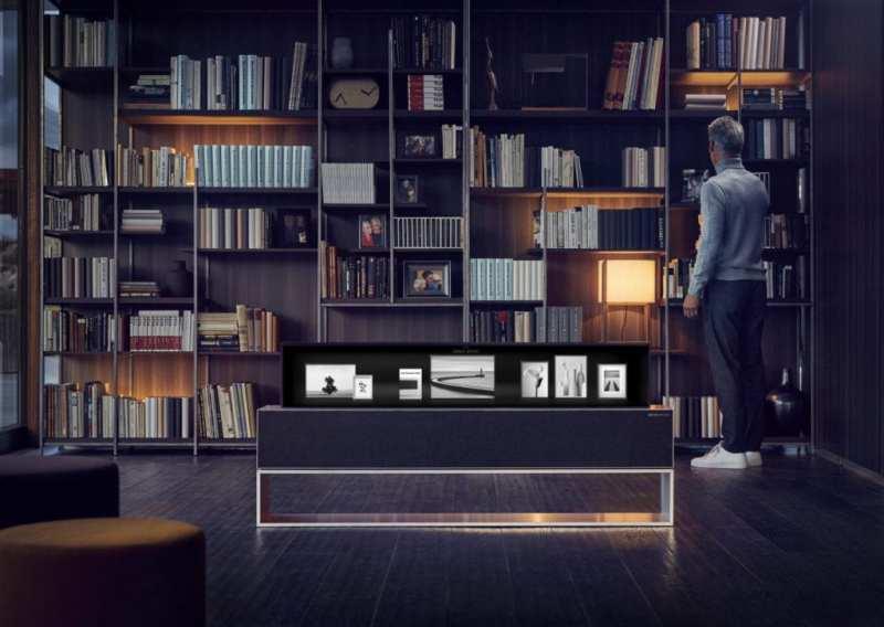 LG presenta el primer televisor OLED enrollable