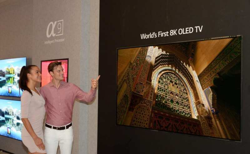 LG PRESENTA EN IFA EL PRIMER TV OLED 8K DEL MUNDO