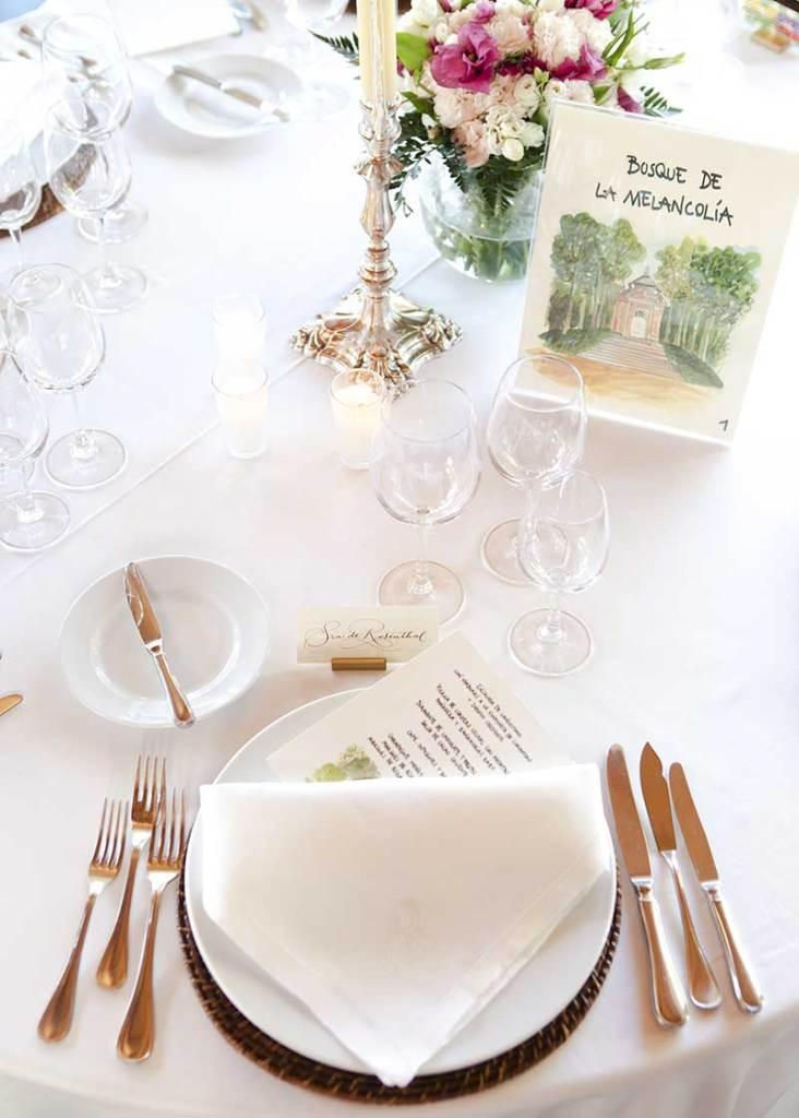 La Bobadilla a Royal Hideaway Hotel Bodas Banquete 732x1024 - ¿Quieres casarte en un bosque? 5 razones para casarse en la Sierra de Loja