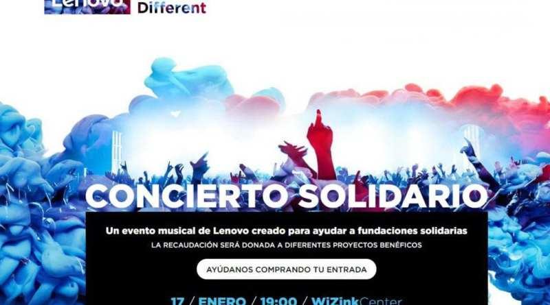 """Lenovo Sounds different - """"Lenovo Sounds Different"""", el concierto solidario de Lenovo tendrá lugar en Madrid el próximo 17 de enero"""