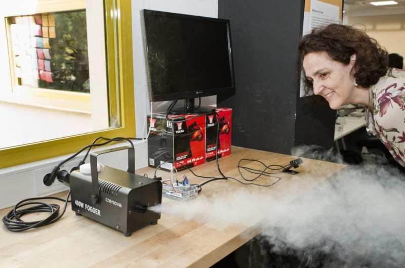 Maquina de humo 1024x677 - La semana marciana de Liquid IT