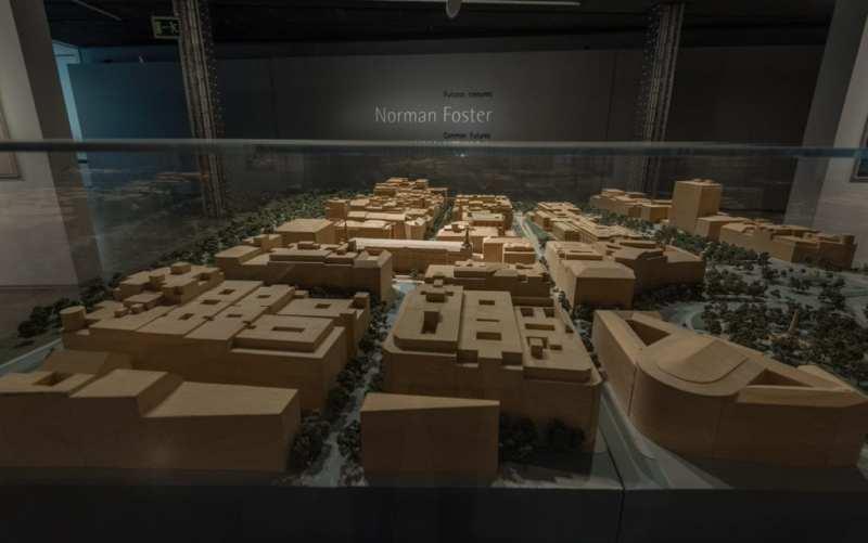 """""""Norman Foster. Futuros comunes"""" en el Espacio Fundación Telefónica"""