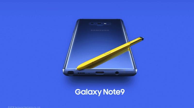 Samsung presenta el (potente) Galaxy Note9