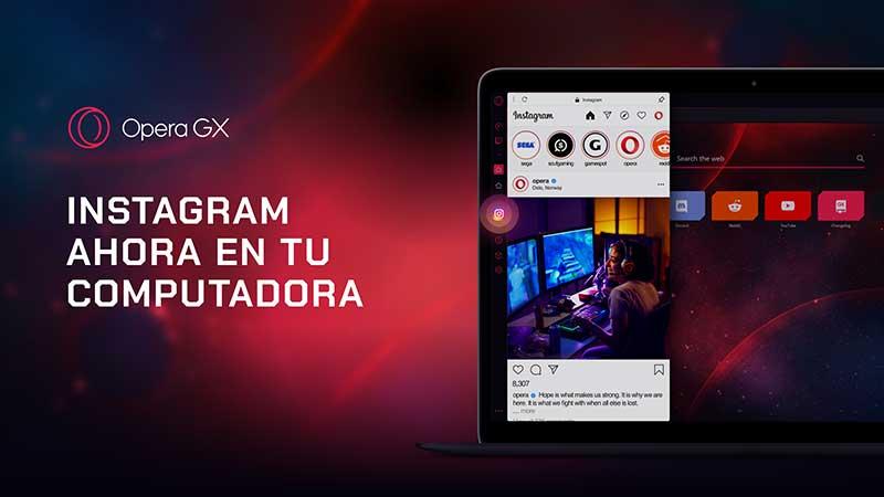 Opera GX gaming 1 - Llega Opera GX, el primer navegador gamer