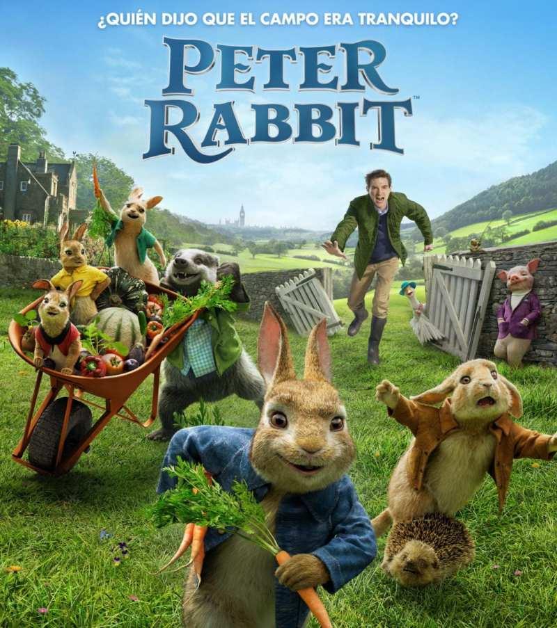PETER RABBIT tendrá una première benéfica
