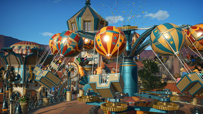 PlanetCoaster Anniversary 02 - Ya puedes reservar Planet Coaster: Console Edition