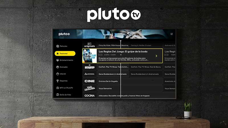 Pluto TV 1 - Pluto TV ya está disponible