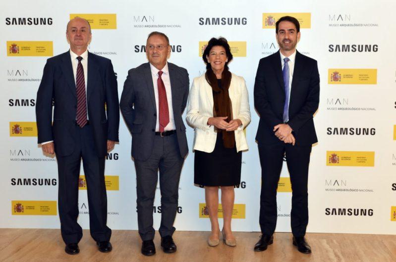 Presentación Man Aula Virtual 6 - El Museo Arqueológico Nacional llega a todas las aulas gracias a Samsung