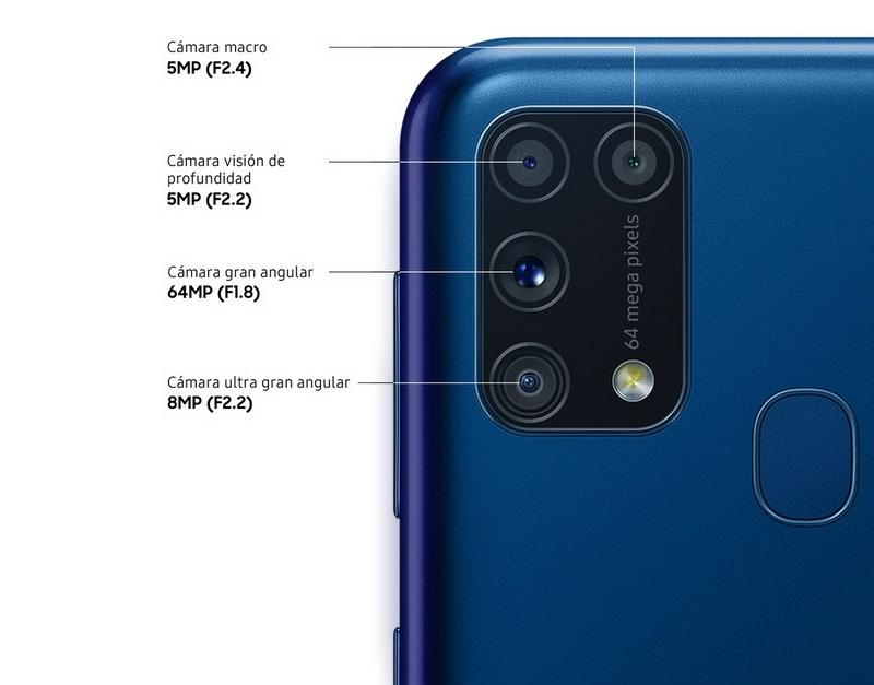 Samsung Galaxy M31 5 - Samsung Galaxy M31: cámara cuádruple y batería de 6000mAh